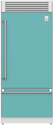Hestan  KRPR36TQ Bottom Freezer Refrigerator Blue, Main Image
