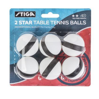Stiga  T1427 Table Tennis Ball White, Main image