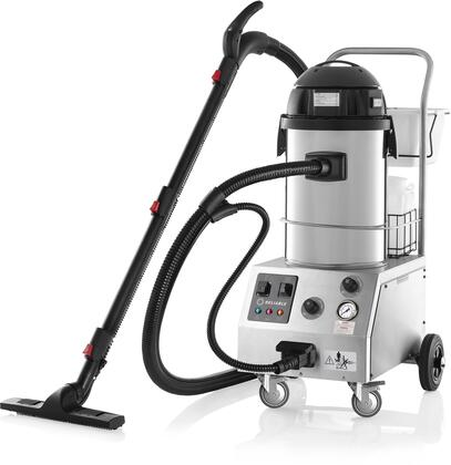 Reliable Tandem Pro 2000CV Commercial Steam and Wet and Dry Vacuum Cleaners and Steamers for Hardwood Floor, Couch, Tile, Grout, Carpet, 1.85 Gallon 87 PSI 6 BAR High Pressure Stainless Steel Tank