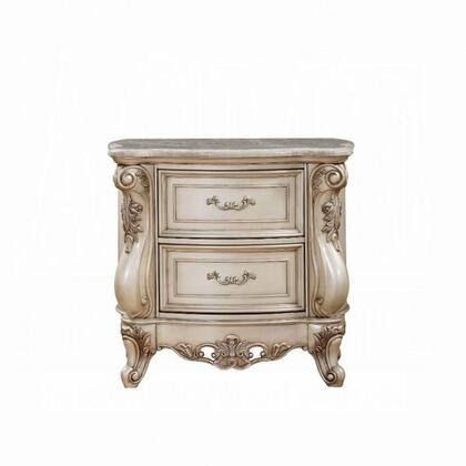 Acme Furniture Gorsedd 27443 Nightstand White, Front View