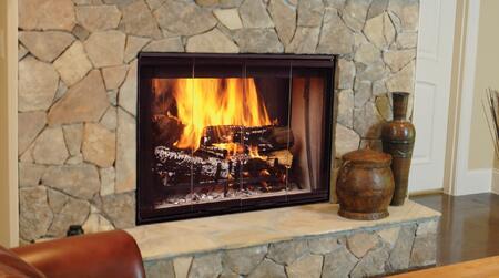 Majestic Designer SSTB11 Fireplace, Installed