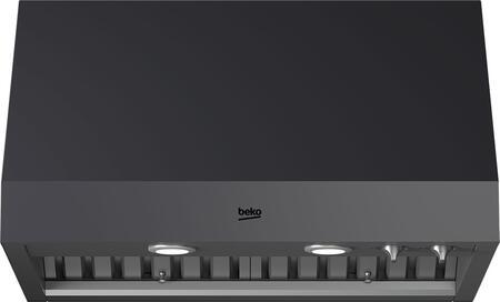 Beko CHP30100CF Under Cabinet Hood Graphite Stainless Steel, CHP30100CF Professional Under Cabinet Range Hood