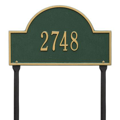 Whitehall Products 1105GG Address Plaques, Main Image