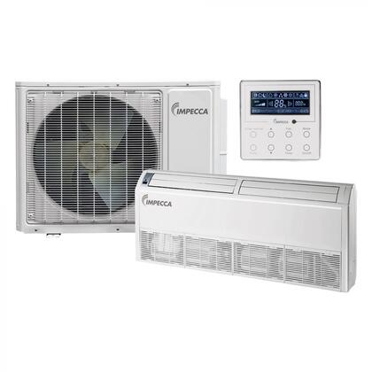 ISMI-FC18S Fixed Series Single-Zone Mini Split System with 18 000 BTU Outdoor Unit  17 000 BTU Floor/Ceiling Indoor Unit and Wall
