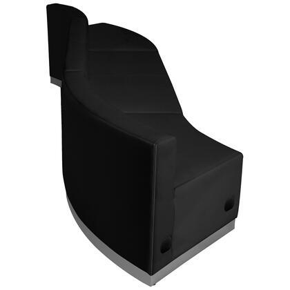 Flash Furniture Hercules Alon ZB803850SETBKGG Sectional Sofa Black, ZB803850SETBKGG side