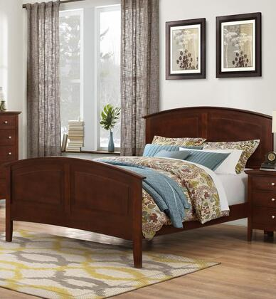 Myco Furniture Whistler WH699T Bed Brown, WH699T Main Image