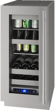 U-Line 5 Class UHBV515SG51A Beverage Center Stainless Steel, Main Image