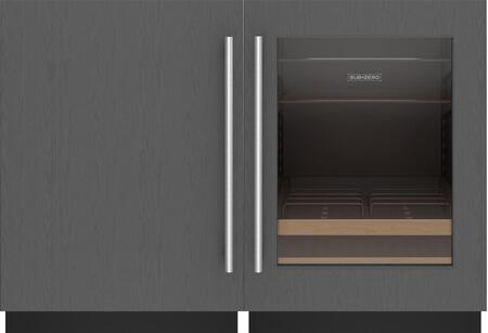 Sub-Zero Designer 1361655 Beverage Center Panel Ready, 1