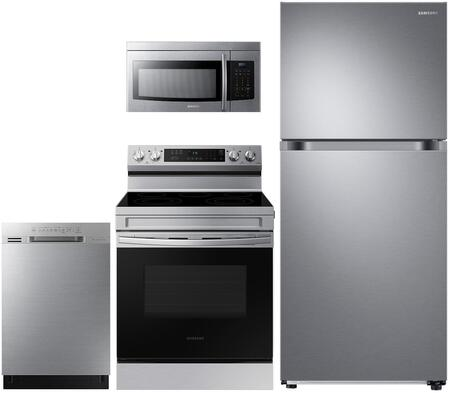 Samsung  908521 Kitchen Appliance Package Stainless Steel, Main image