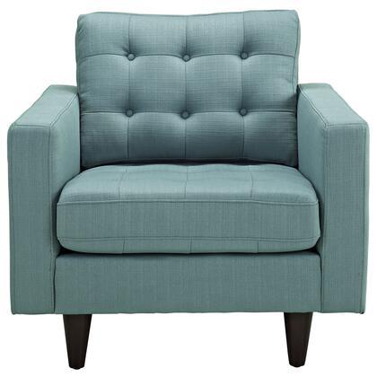 Modway Empress EEI1013LAG Accent Chair Blue, 1