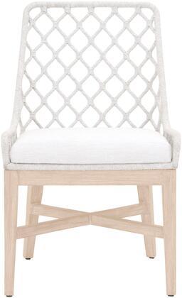 Essentials for Living Lattis 6803WHTWHTGT Patio Chair White, Main Image