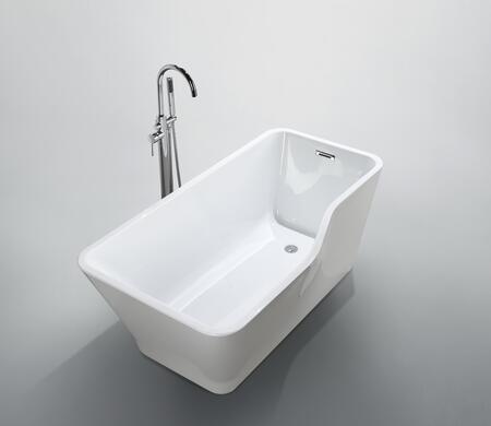 Bellaterra Home Florence BA6818 Bath Tub White, Main image