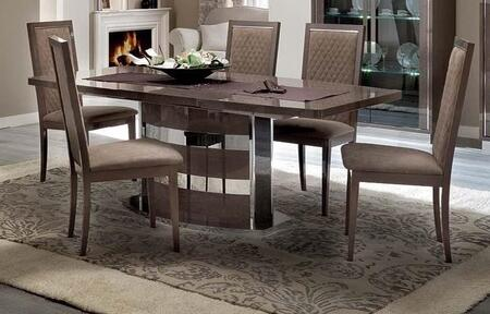 ESF Platinum PLATINUMTABLE Dining Room Table Brown, PLATINUMTABLE