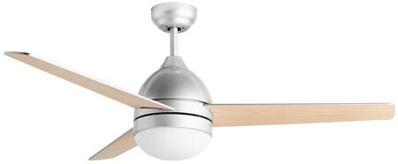 CF2000 48″ Modern Ceiling Fan with LED Lamp  Reversible Motor & Blades and 3 Speeds in