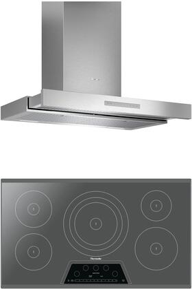 Thermador  1071220 Kitchen Appliance Package Stainless Steel, main image