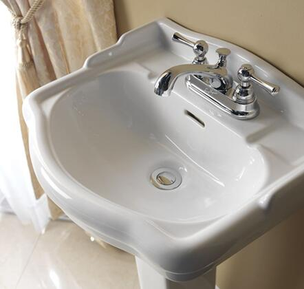 Barclay Stanford B3871WH Sink Other, Faucet Not Included