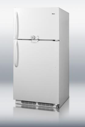 Summit  CTR18WLLF2 Top Freezer Refrigerator White, 1