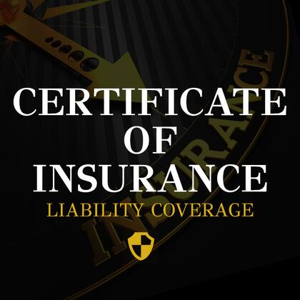 Professional Service CERTIFICATE OF INSURANCE | Appliances ...