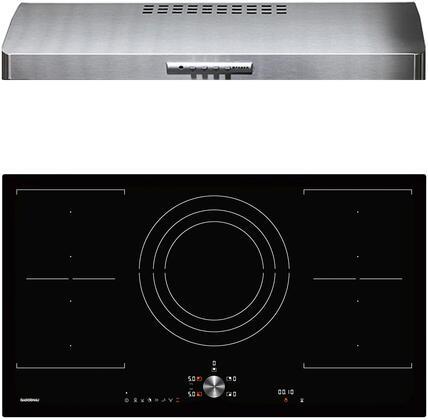 Gaggenau Deals 200 Series 1383876 Kitchen Appliance Package Black, Main image