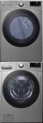 LG  1289272 Washer & Dryer Set Graphite Steel, 1