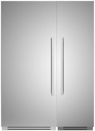 Bertazzoni  1308091 Column Refrigerator & Freezer Set Stainless Steel, 1