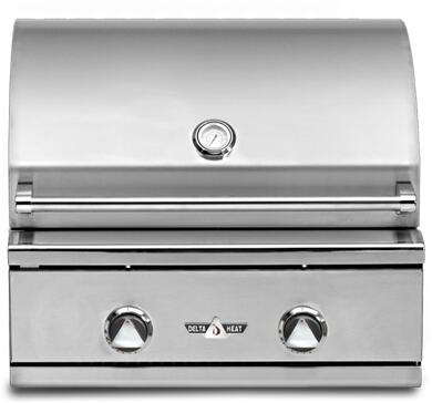 Delta Heat  DHBQ26GCN Natural Gas Grill Stainless Steel, Main Image