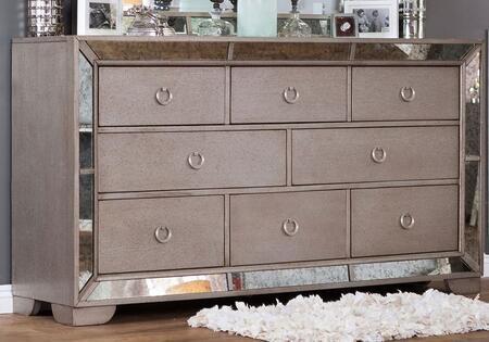 Furniture of America Loraine CM7195D Dresser Silver, 1