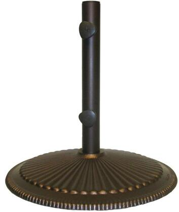 Blue Wave Cast Iron Base with Stem in Place