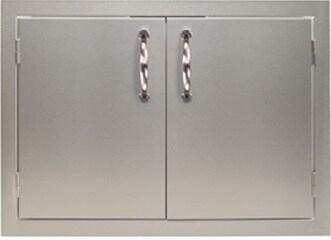 ARTP-42DD 42″ Double Doors with 304 Stainless Steel  Soft Close Door Hinges and Magnetic Closures in Stainless