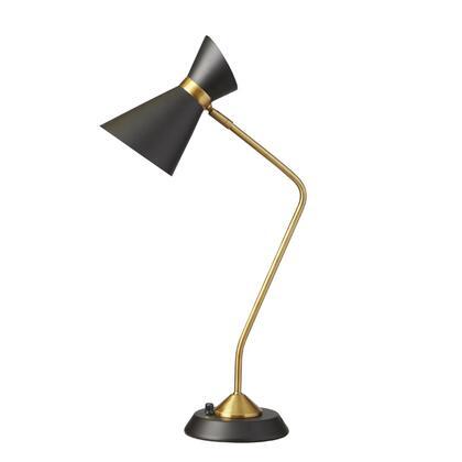 Dainolite 1679TBKVB Table Lamp, DL 8e1fea00496e58787a70fe28fcdf