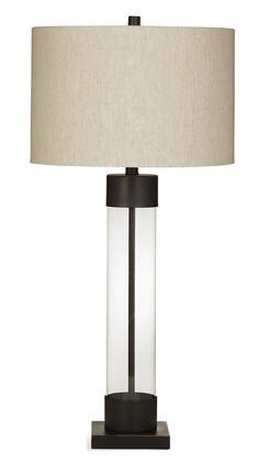 Bassett Mirror Boho L3332TEC Table Lamp Brown, L3332TEC