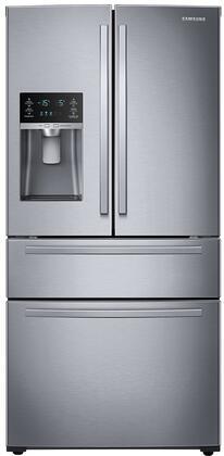 Samsung  RF25HMIDBSR French Door Refrigerator Stainless Steel, RF25HMIDBSS 4 Door Refrigerator