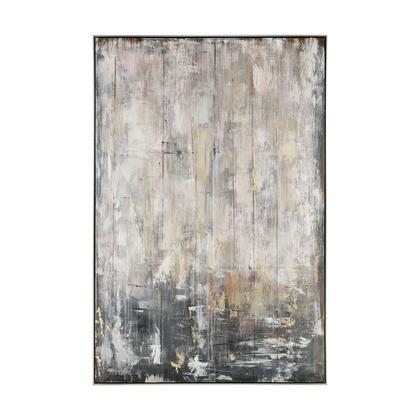 1219-059 Flowing Abstract Wall Decor  In Brown And