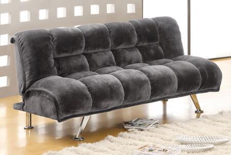 Furniture of America Marbelle CM2904GY Futon Gray, Main Image