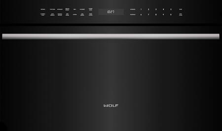 Wolf M Series MDD30CMBTH Built-In Microwave Black, Main Image