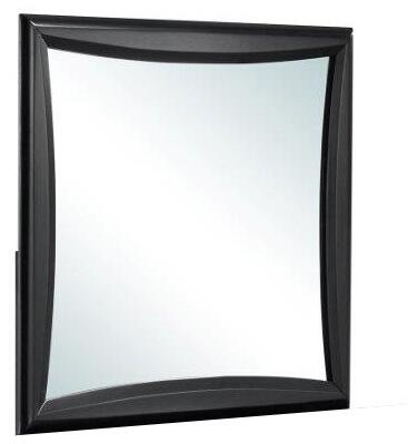 Global Furniture USA Lucas LUCASBLACKM Mirror Black, Main Image