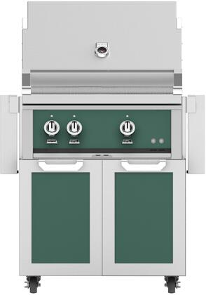 Hestan  852449 Natural Gas Grill Green, Main Image