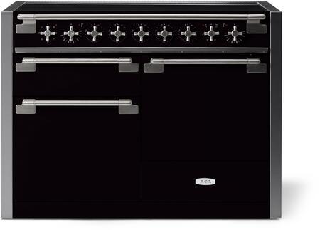 AGA Elise AEL481INMBL Freestanding Electric Range Black, AEL481INMBL Induction Range
