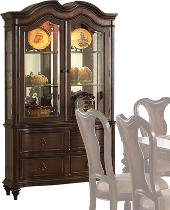 Acme Furniture Azis 63774 China Cabinet Brown, 1