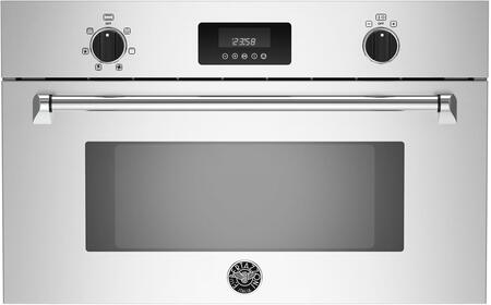Bertazzoni Master MASCS30X Single Wall Oven Stainless Steel, MASCS30X  30 Convection Steam Oven