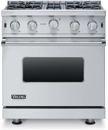 Viking Professional 5 VGIC53014BSS Freestanding Gas Range Stainless Steel, Main Image