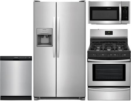 Frigidaire 864658 Kitchen Appliance Package & Bundle Stainless Steel, 1
