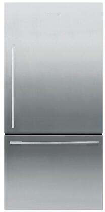 Fisher Paykel Contemporary RF170WDRX5N Bottom Freezer Refrigerator Stainless Steel, Main View