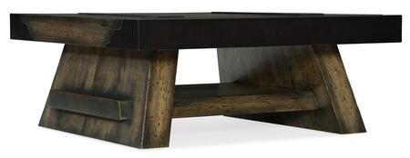 Hooker Furniture American Life-Crafted 165480111DKW1 Coffee and Cocktail Table, Silo Image