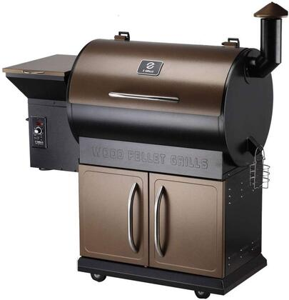 ZPG-700C 48″ Freestanding Pellet Grill with 694 sq. in. Total Cooking Area  Digital Controller  20 lb Hopper Capacity  in