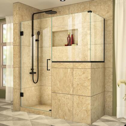 DreamLine  SHEN242830363009 Shower Enclosure , UnidoorPlus Shower Door 39 30D 30BP 30RP 09