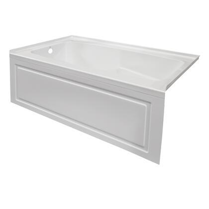 Valley Acrylic Signature Collection STARK6032SKLWHT Bath Tub White, Main Image