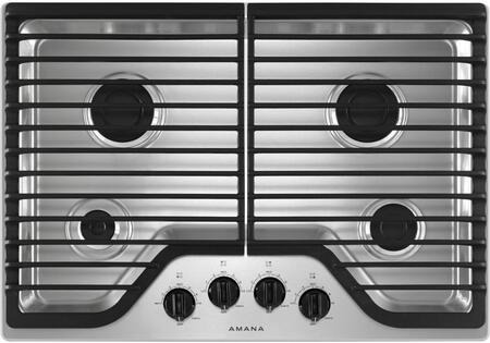 Amana  AGC6540KFS Gas Cooktop Stainless Steel, Main Image