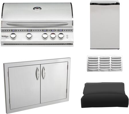 Summerset Grills  1436074 Grill Package Stainless Steel, Main image