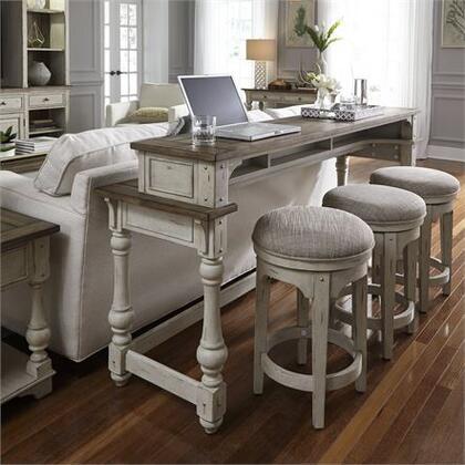 Liberty Furniture Morgan Creek 498OT4PCS Console White, Main view